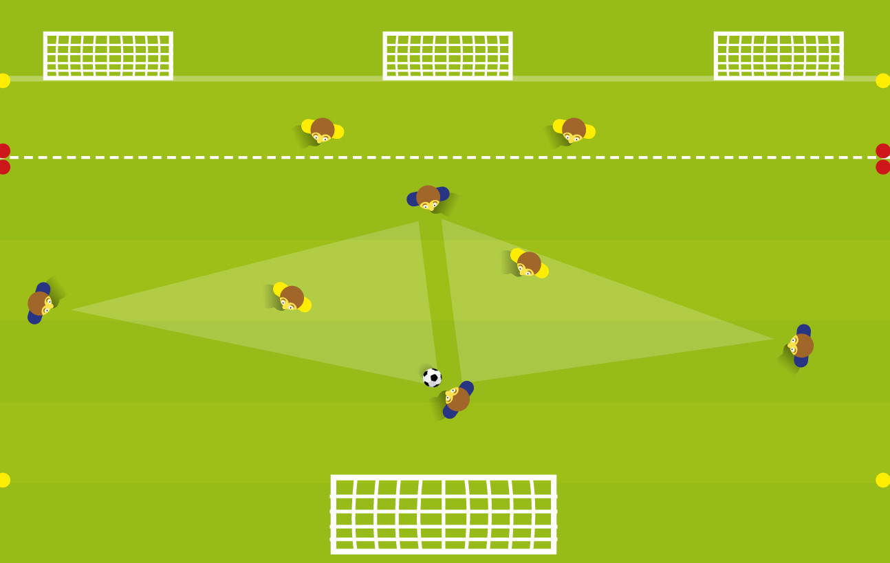 Afbeeldingen van Ontdekkend leren voetballen